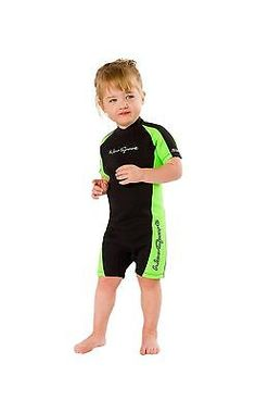 Youth 47355: Neosport Wetsuits Youth Premium Neoprene 2Mm Youth S Shorty Black Lime 2 -> BUY IT NOW ONLY: $38.41 on eBay!