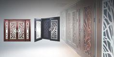 LASER CUT ART DESIGN SECURITY DOOR MANUFACTURER