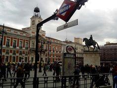 Puerta del Sol en Los Madriles, Madrid