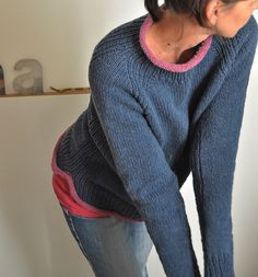 Ravelry:  Blue House pattern by ANKESTRiCK