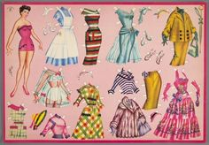 77.4188: paper doll | Paper Dolls | Dolls | Online Collections | The Strong