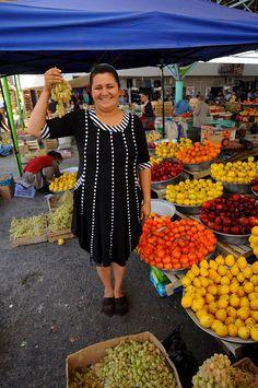 Uzbekistan, Bukhara, Small Farmers Market, Kryty Rynok by MY2200, via Flickr