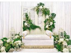 Wedding Themes Rustic Indoor 62 Ideas For 2019 Wedding Ceremony Backdrop, Wedding Stage, Wedding Themes, Wedding Decorations, Floral Decorations, Wedding Reception, Malay Wedding, Wedding Background, Vintage Country