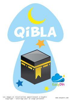 #coloriage, #qibla, #islam, #prière, #enfants musulman