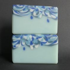 Try gave me some random, unintentional drops in the main soap body. I have wanted to try a 'raindrop' batch, and now I feel like it is achievable. This is fragranced with Nurture Soap Supplies Winter Wonderland. Soap Supplies, Winter Wonderland, Give It To Me, Decorative Boxes, September, Fragrance, Challenge, Drop, Random