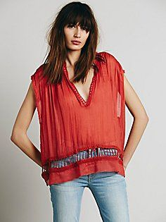 FP One Cap Sleeve Pullover