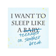Funniest Quotes About Parents: Pin These for a Laugh: We love our kids, but sure do miss our slumber glory days! (via Parents.com)