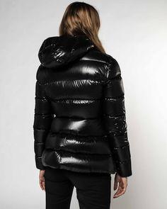 Rhin Jacket by Moncler Outerwear Women, Outerwear Jackets, Special Deals, Moncler, Bleach, Black Women, Latest Trends, Winter Jackets, Feminine