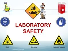 Laboratory Safety Presentation. Lots of visuals- covers all safety precautions. Set up in multiple parts (such as- before the lab, during the lab, after the lab, attitude and attire, what is wrong with this picture?) Fun video link!