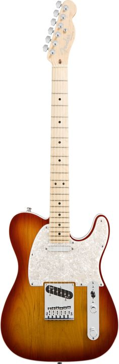 Fender Electric Guitar American Deluxe Telecaster Aged Cherry Burst