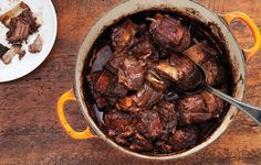 These Red Wine-Braised Short Ribs are even better when they're allowed to sit overnight.