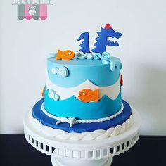 Resultado de imagen para el monstruo de la laguna ideas cumpleaños Ideas Cumpleaños, Cupcakes, Desserts, Cata, Salvador, Food, Cookies, Toddler Birthday Pictures, Monsters