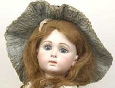 A Fine Jumeau Bebe Triste Bisque Doll, French, C.1885 | Vectis Toy Auctions