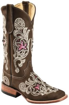 FERRINI Snake Print Inlay Embroidered Cowgirl Boots @ womensbootshop.com