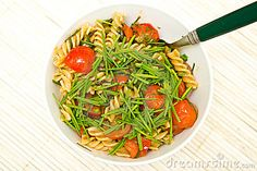 Whole wheat vegetable pasta