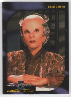 Babylon 5 Special Edition Faces of Delenn Chase Card D2 (SkyBox) -- Check It & More Trading Cards Available for Purchase on www.eCRATER.com