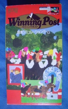 #SuperFamicom :  Winning Post ( Koei ) http://www.japanstuff.biz/ CLICK THE FOLLOWING LINK TO BUY IT ( IF STILL AVAILABLE ) http://www.delcampe.net/page/item/id,0377469417,language,E.html