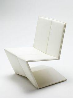 Contemporary fireside chair (minimalist design) PLEAT by four o nine Nienkamper  Minimalist Design