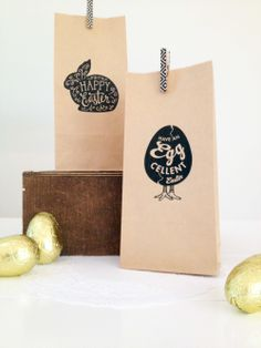 Easter gift / treat bags | Frankie's Girl