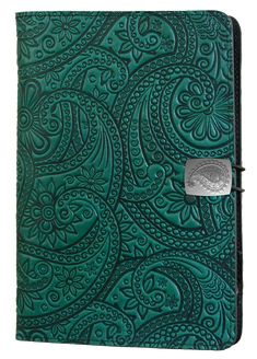 Leather iPad Mini Cover | <br/>Paisley | <br/>3 Color Choices
