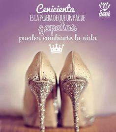Cenicienta es la prueba de que un par de zapatos pueden cambiarte la vida