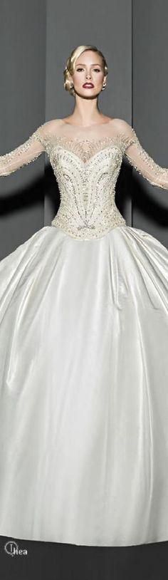 Wedding Dress ● Victor Harper Couture by ila