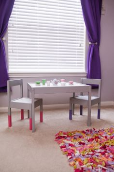 Ikea Hack: Kid's Table