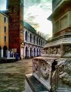 Andrea Palladio, la Basilica di Vicenza in Piazza dei Signori