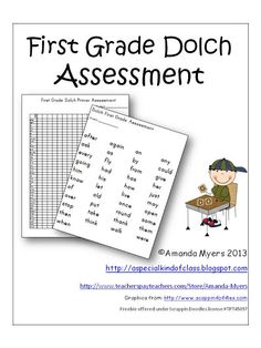 New Assessment Pack Freebie