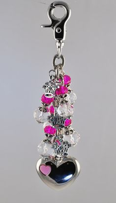 Princess crowns purse light by Diva Dangles at www.divadangles.com