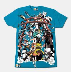 Crunchyroll - Crunchyroll X Boomslank Teal T-shirt (Small)