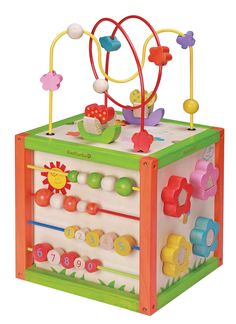 Everearth Toddlers Activity cube,