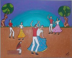 Umbigada I - Pintura (Acrílica) - Juliano Silva