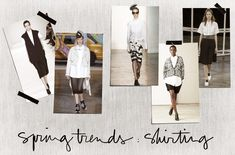 Spotted / Spring Trends: Shirting