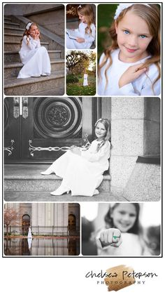 Chelsea Peterson Photography: Baptism Photography { Salt Lake City Temple – Miss B}