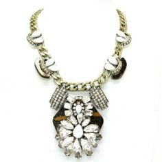 New Arrival Crystal - Statement  Chain Necklace £15.95
