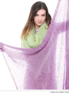 Mary Gale's Square Shawl Kit