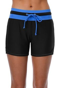 e030f0497b Sociala Women's Long Board #Shorts Quick Dry #Swim Shorts Beach  #Boardshorts #swimwear