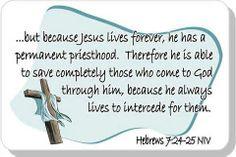 Hebrews 7:24-25