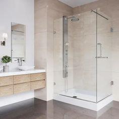 Vigo VG601236WL Corner Shower Enclosures, Frameless Shower Enclosures, Glass Shower Enclosures, Glass Shower Doors, Acrylic Shower Base, Neo Angle Shower, Shower Units, Shower Pan, Shower Installation