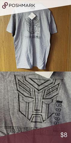 193d45ed293b1 Transformers T-shirt Steve   Barry s NWT Gray Men s Medium Transformers  Tshirt Steve   Barry s