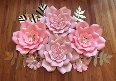Paper Flower Decor, Paper Flower Backdrop, Flower Decorations, Fabric Flowers, Baby Room Decor, Nursery Decor, Birthday Party Decorations, Diy Paper, Event Decor