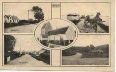 Øverst th. på postkortet har vi et sjældent foto af Lindebroens 4½ m brede mole, der inden havneudvidelsen i 1921 førte ud til det noget bredere brohovede. I forbindelse med havneudvidelsen blev molen gjort bredere mod øst og fik sin nuværende bredde. Postkort fra Mia Gerdrups arkiv.