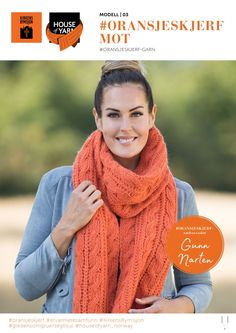 Oransje Skjerf – Knit at Home Crochet Scarfs, Knitting, Fashion, Threading, Moda, Tricot, Cast On Knitting, Fasion, Knitting And Crocheting