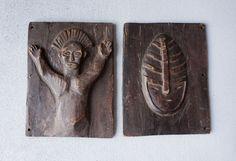 Catawiki online auction house: Makishi Masquerade Tablets - Chokwe - Zambia