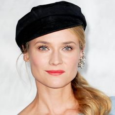 Diane Kruger knows how to make a red lip look both classic and fun.
