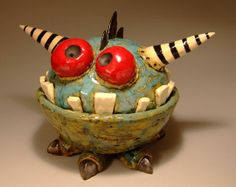 ceramic monster