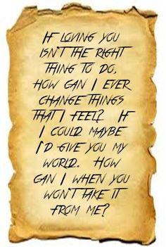 Fleetwood Mac lyrics ... you can go your own way
