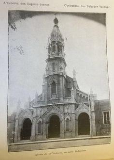 Construida por Salvador Vásquez y diseñada por Eugenio Joanon la iglesia del monasterio de las Clarisas de Nuestra Señora de la Victoria ubicada en Bellavista