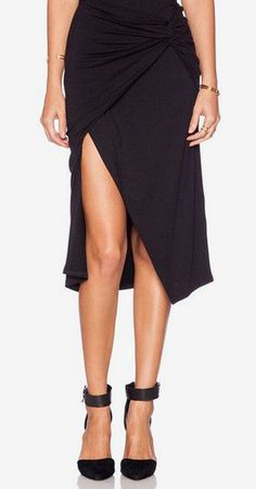Black Knot Overlay Skirts- Features Structured Overlay Design. Have shoes, need skirt?